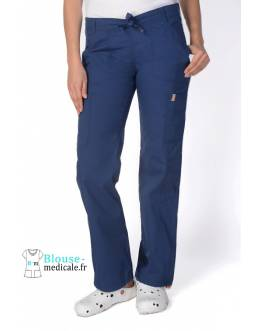Pantalon Medical Femme Anti taches Bleu Marine