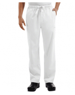 Pantalon Medical Homme Cherokee 4243 Blanc