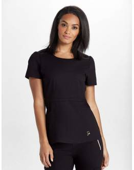 "Tunique Jaanuu ""Peplum Top"" Noir"