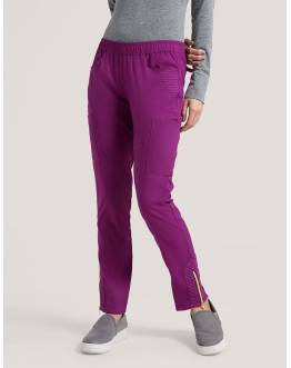 "Pantalon Jaanuu ""Moto Pant"" Prune Collection Jolie"