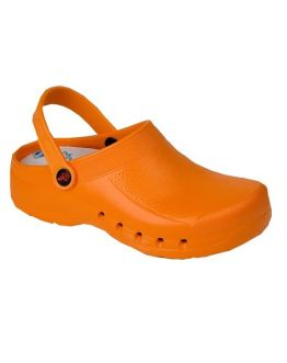 Chaussures Hopital Eva Orange