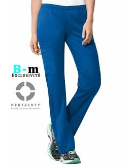 Pantalon Medical Cherokee Antimicrobien Femme Bleu Royal 44200A