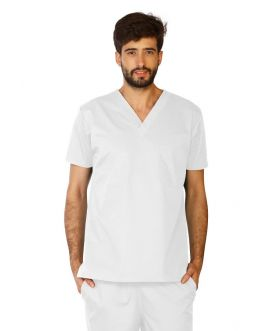 Tunique Medicale Homme Life Threads 3110 Blanc