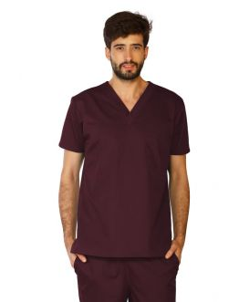 Tunique Medicale Homme Life Threads 3110 Bordeaux
