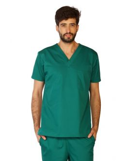 Tunique Medicale Homme Life Threads 3110 Vert