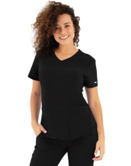 Tunique Medicale Femme Life Threads 1510 Noir