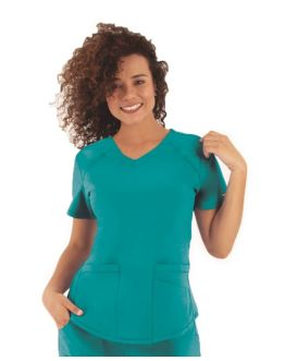 Tunique Medicale Femme Life Threads 1510 Bleu Lagon
