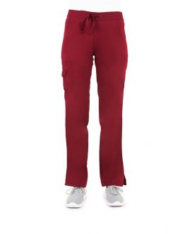 Pantalon Medical Femme Life Threads 1427 Bordeaux