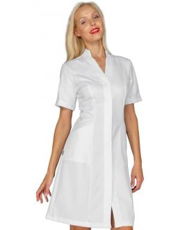 Blouse Medicale Femme Acapulco Manches Courtes Blanc